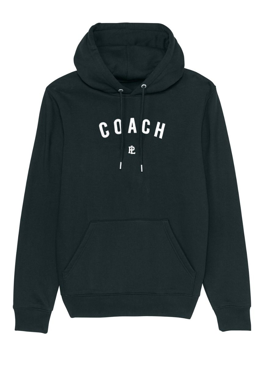 EcoLayer Coach Hoodie Black