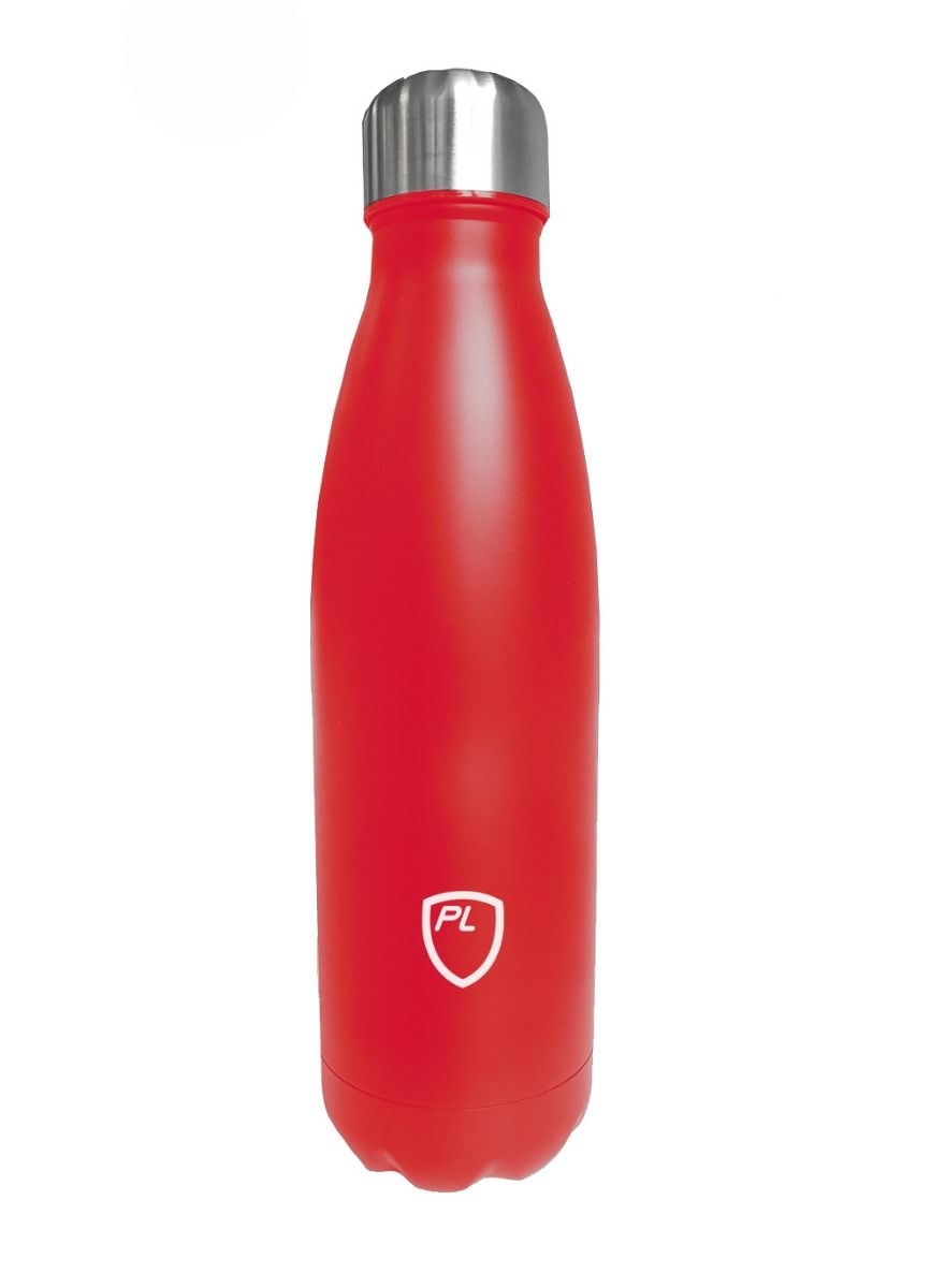 Steel Water Bottle Red
