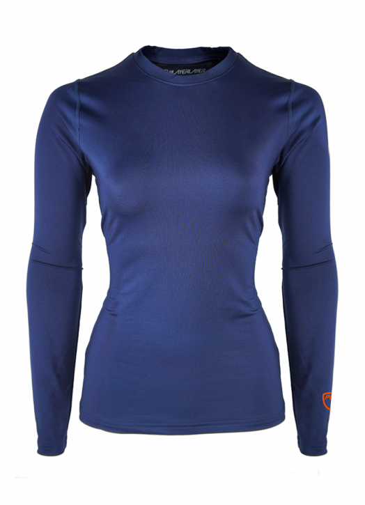 Women's BaseLayer Crew Neck Top Navy