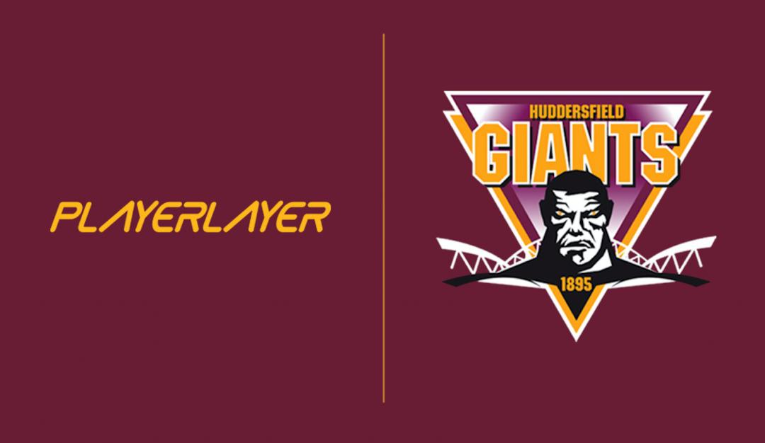 British Sports Brand PlayerLayer Becomes Official Partner to Huddersfield Giants