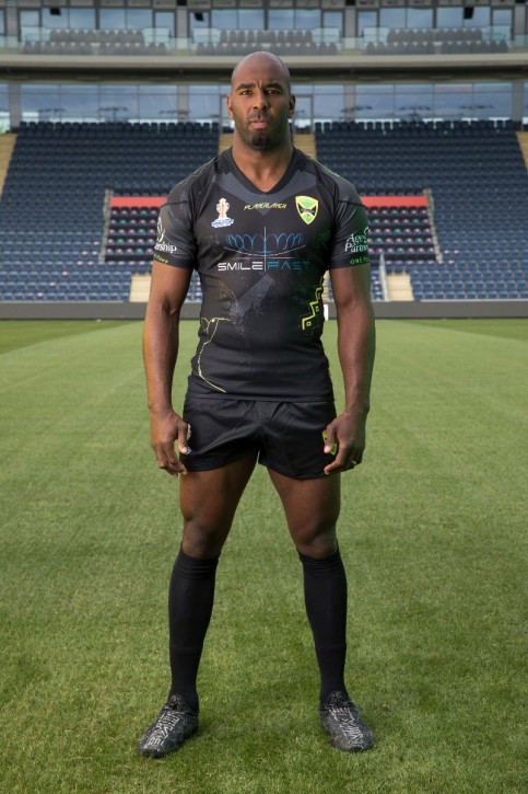 Men's Rep Rugby Jersey - V Neck Black