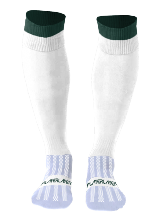 Adult Euro Socks Cool Max White