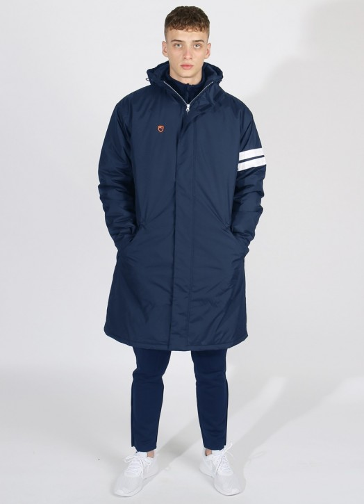Bench Coat Navy Blue