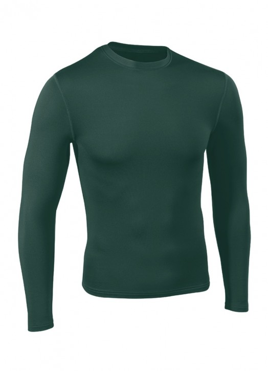 Men's BaseLayer Crew Neck Top Forest