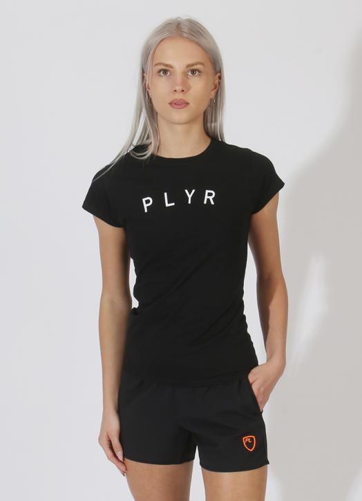 Women's PlayerLayer Tee Black