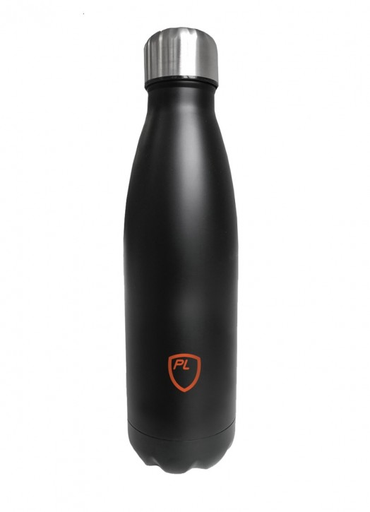 Steel Water Bottle Black