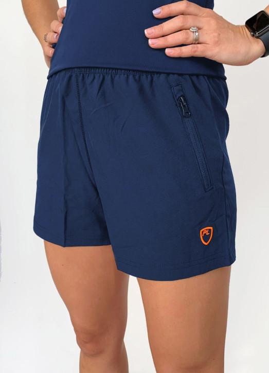 Women's 4 Inch Coaches Shorts Navy Blue
