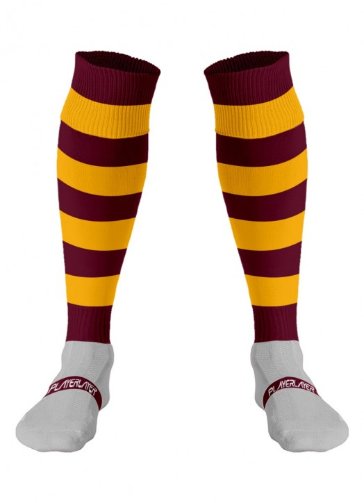 Adult Euro Socks Cool Max Claret