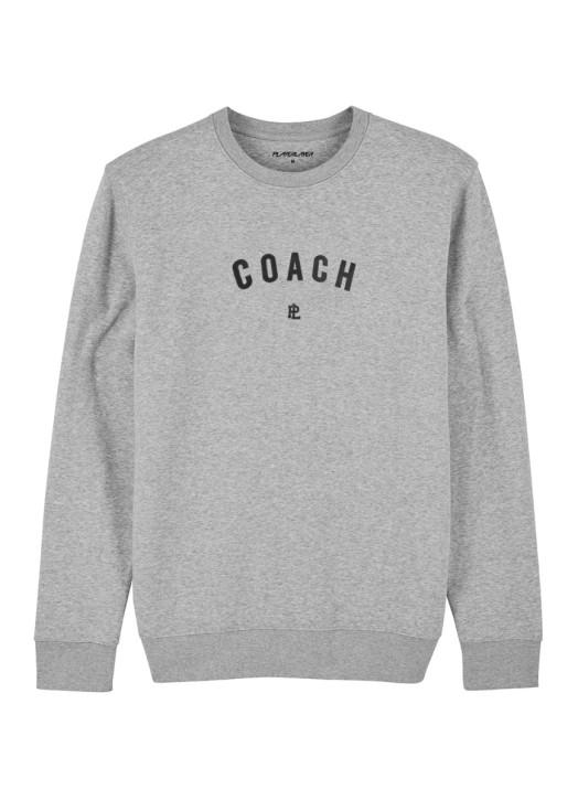 EcoLayer Coach Sweatshirt Grey Marle