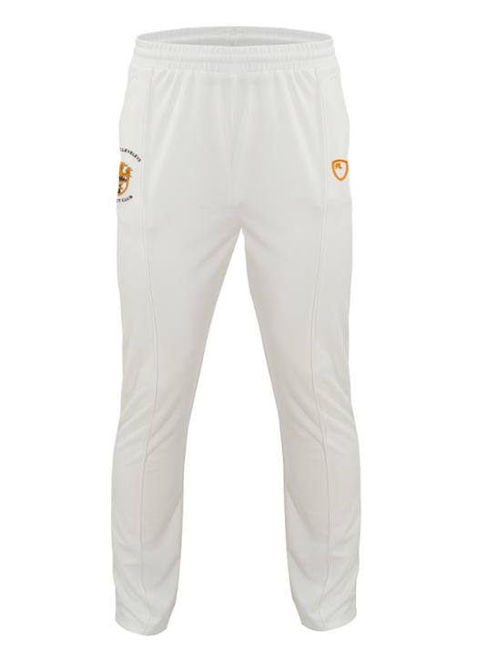 Junior Cricket Trousers Cream