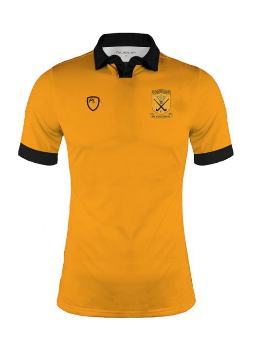 Men's Turf Field Shirt SS Gold
