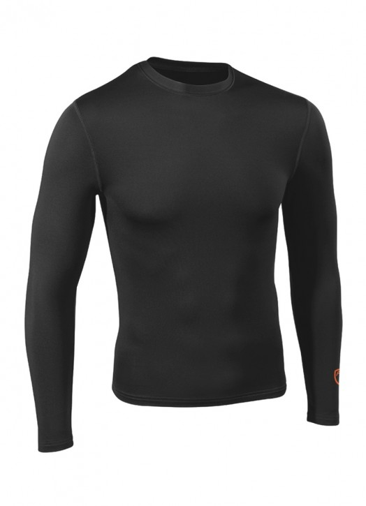 Men's BaseLayer Crew Neck Top Black