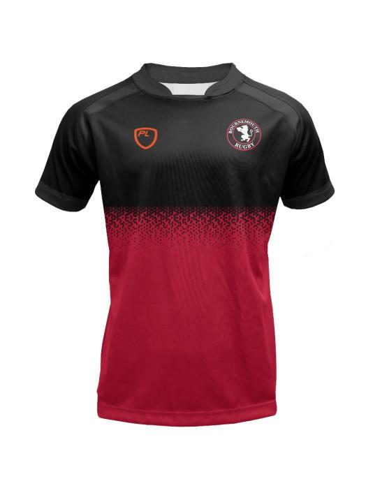Junior Rep Rugby Jersey - Crew Scarlet