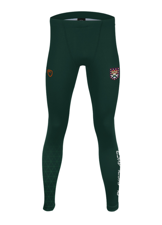 Men's Full Length Leggings Forest Green