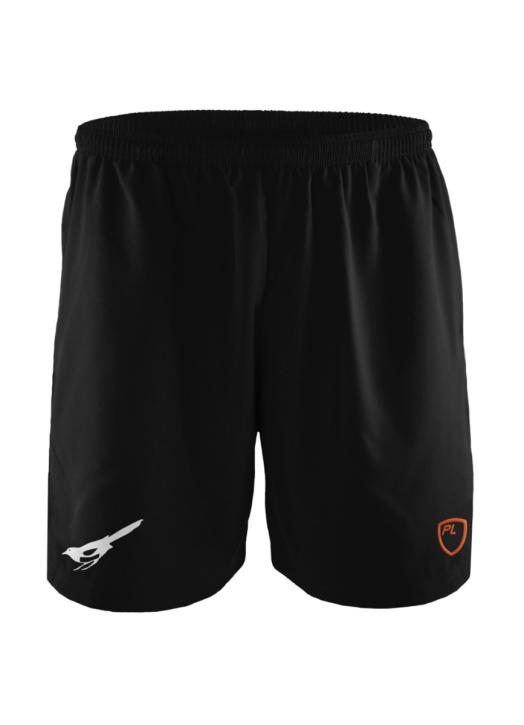 Junior Blitz Field Shorts Pockets Black