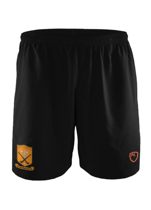 Men's Blitz Field Shorts Pockets Black