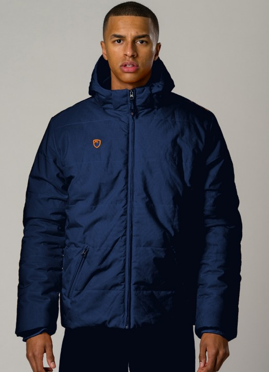 Men's Padded Jacket Navy Blue