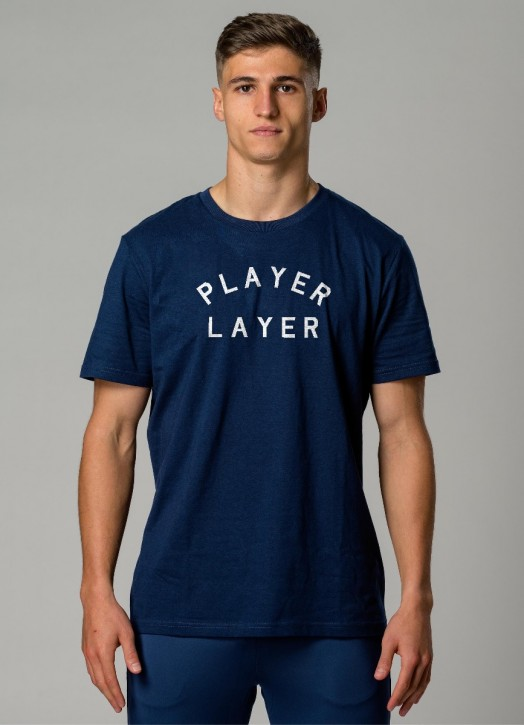 Men's EcoLayer Tee Navy Blue