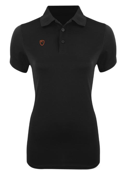 Women's VictoryLayer Polo Black