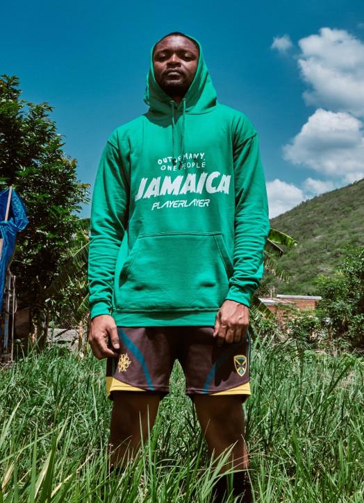 Men's Hoodie Emerald Green