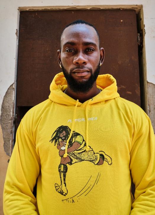 Men's Hoodie Yellow