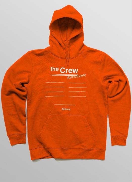 The Crew Hoodie Orange