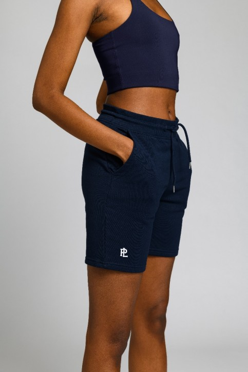 Eco Sweat Shorts Navy Blue
