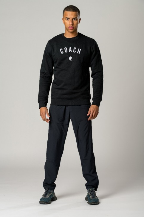 EcoLayer Coach Sweatshirt Black