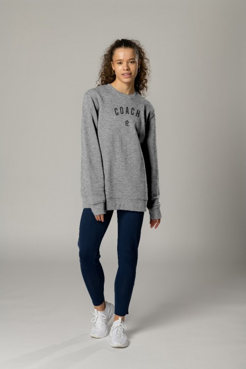 EcoLayer Coach Sweatshirt Grey Marle