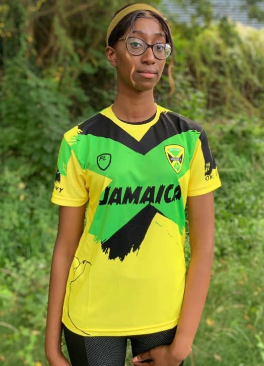 Women's Jamaica Warm Up Tee Yellow