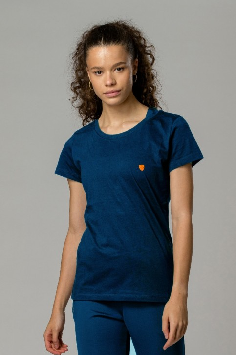 Women's EcoLayer Tee Navy Blue