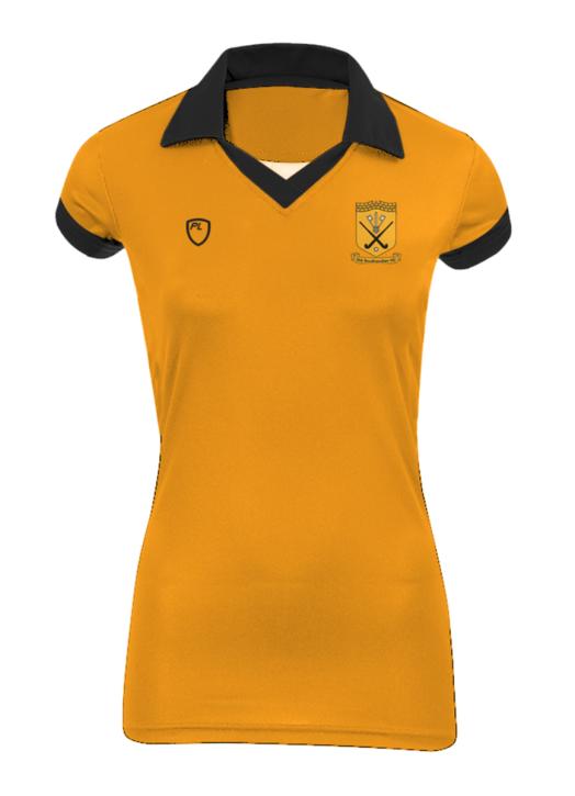 Girls' Court Shirt C/S Gold
