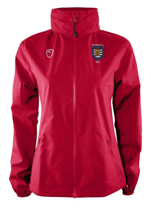 Women's WeatherLayer Jacket Scarlet Red