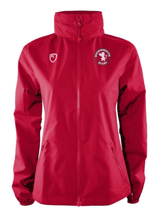 Junior WeatherLayer Jacket Scarlet Red