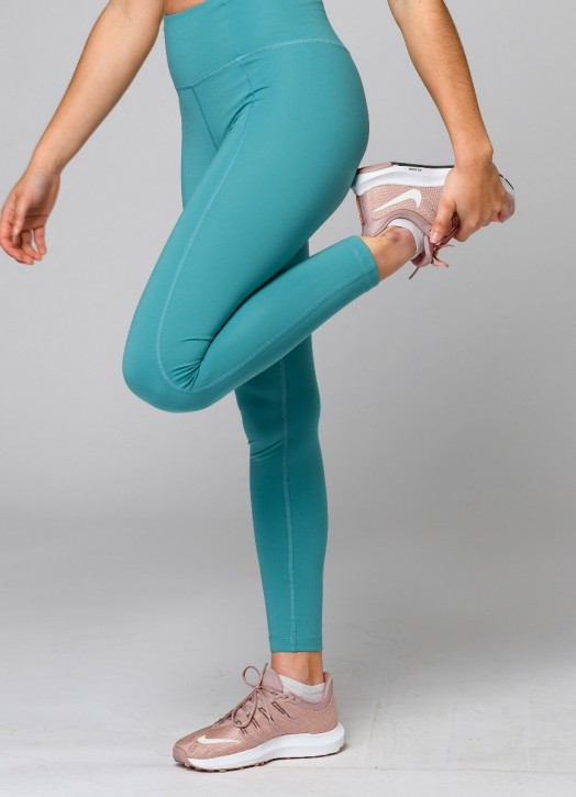 EcoLayer Leggings Teal