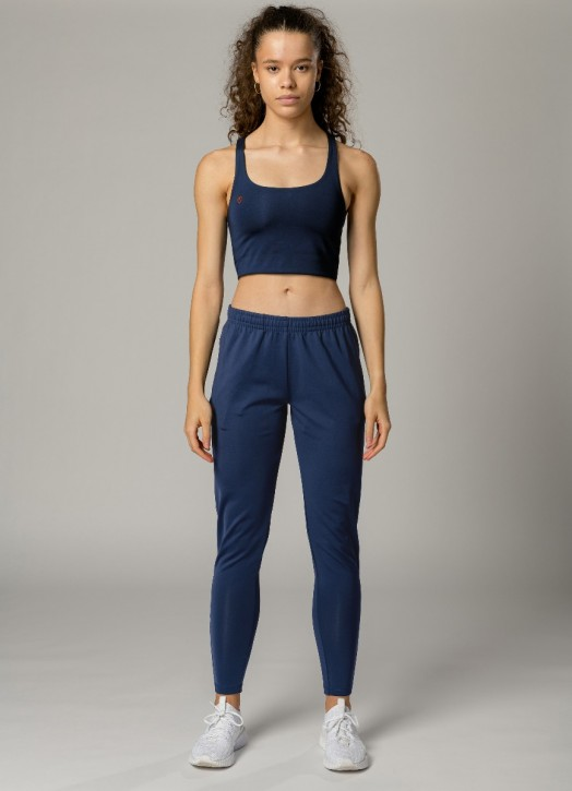 Women's Eco Training Pant Navy Blue