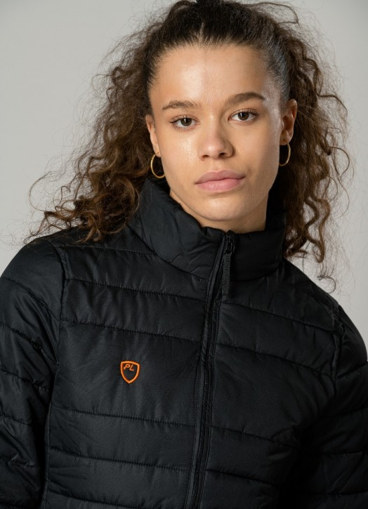 Women's EcoLayer Puffer Jacket Black