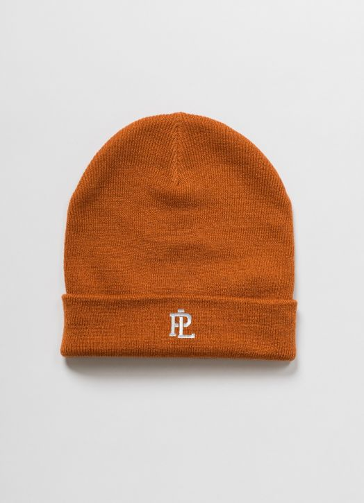 PL Beanie Rust Red