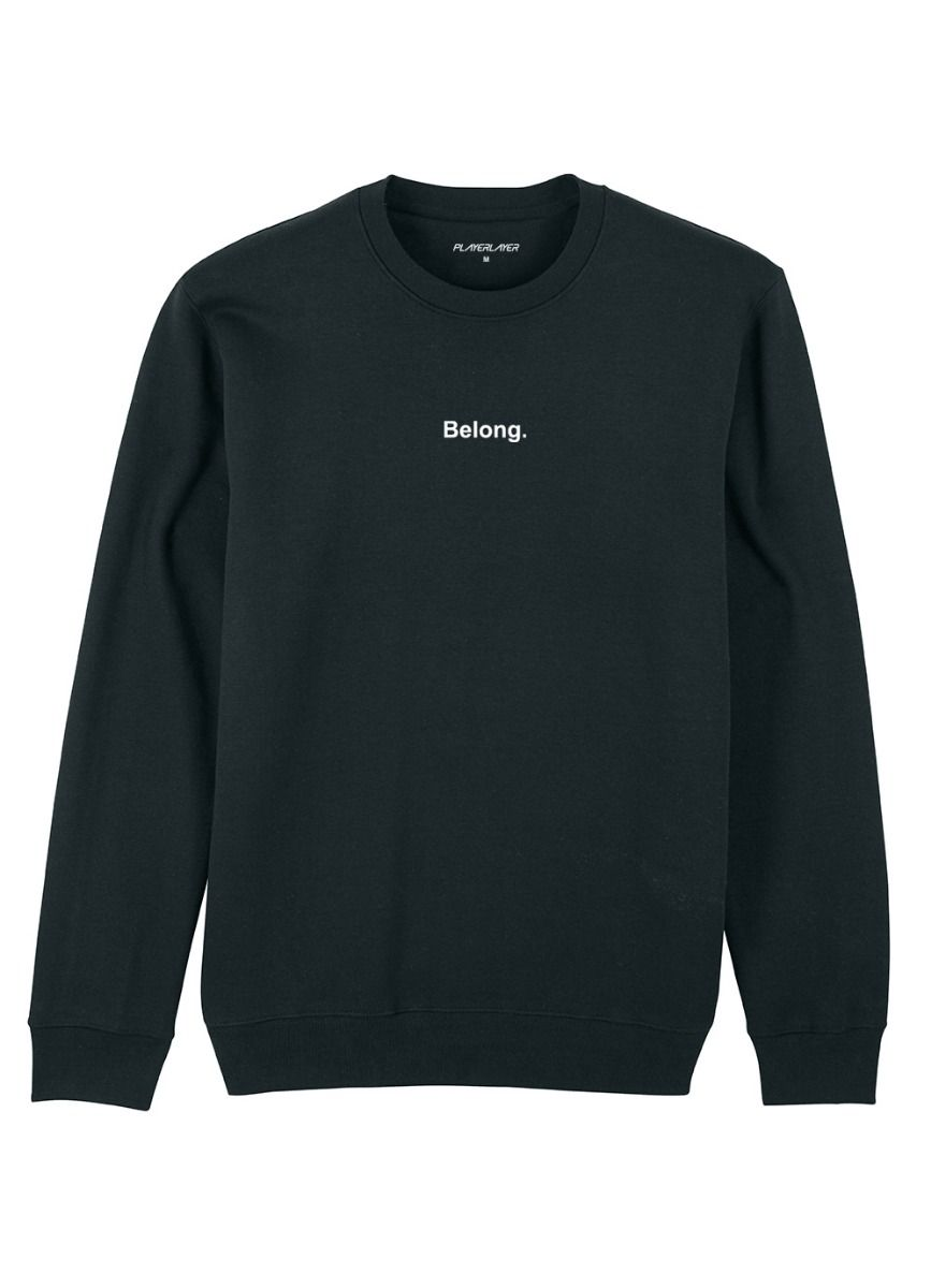 Unisex EcoLayer Sweatshirt Black