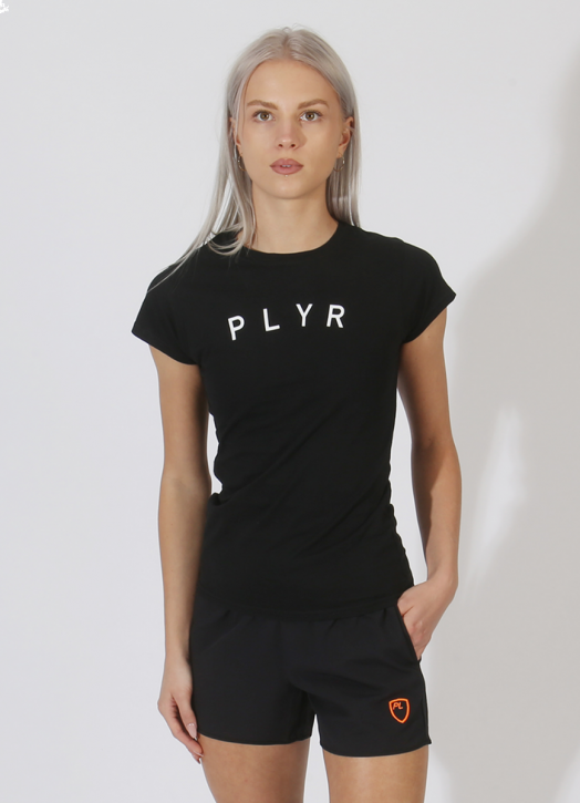 Women's PlayerLayer Tee Black