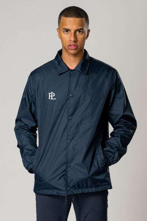 Coaches Jacket Navy Blue