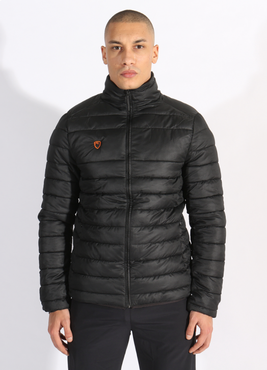 Men's EcoLayer Puffer Jacket Black