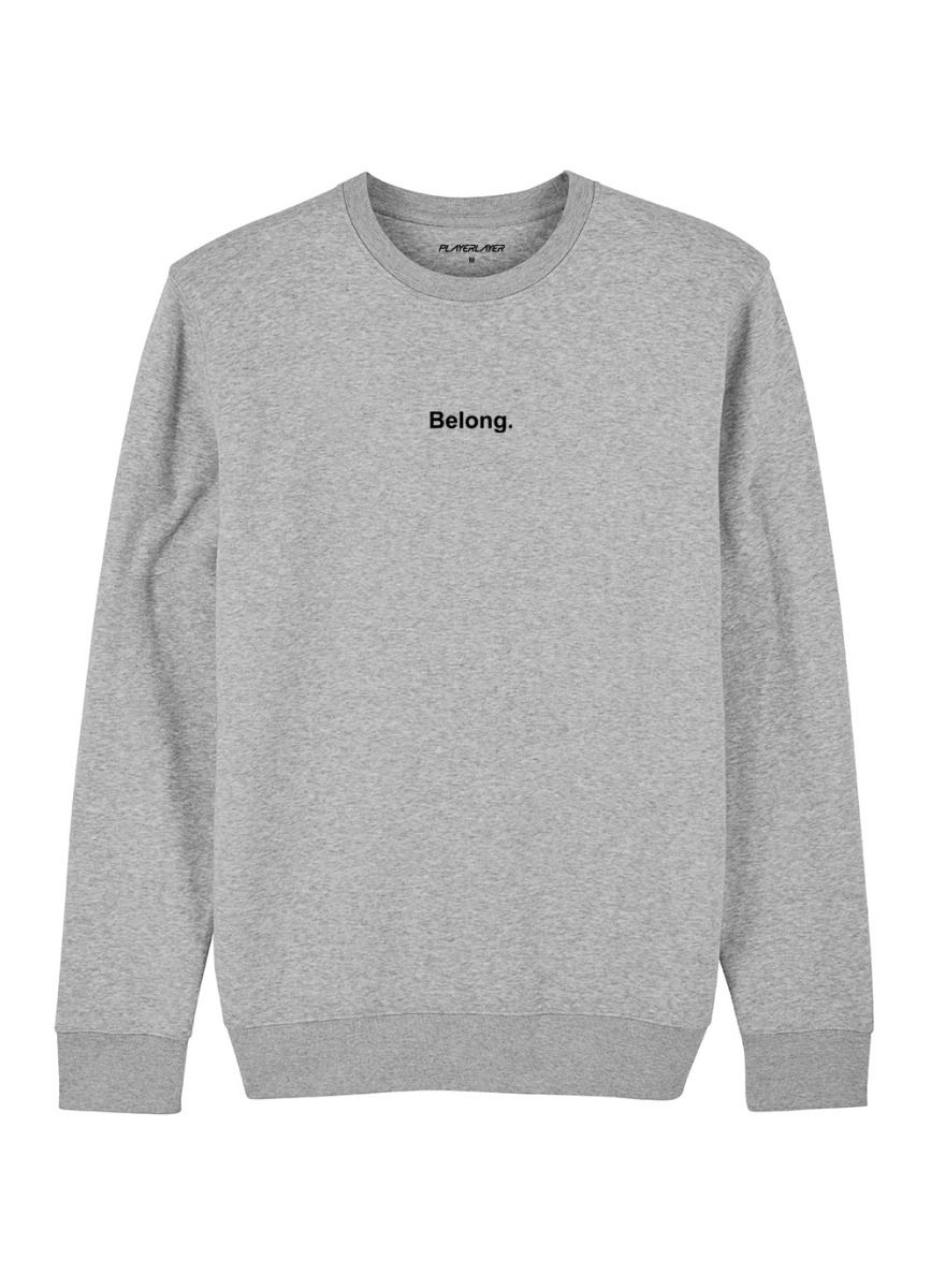 Unisex EcoLayer Sweatshirt Grey Marle