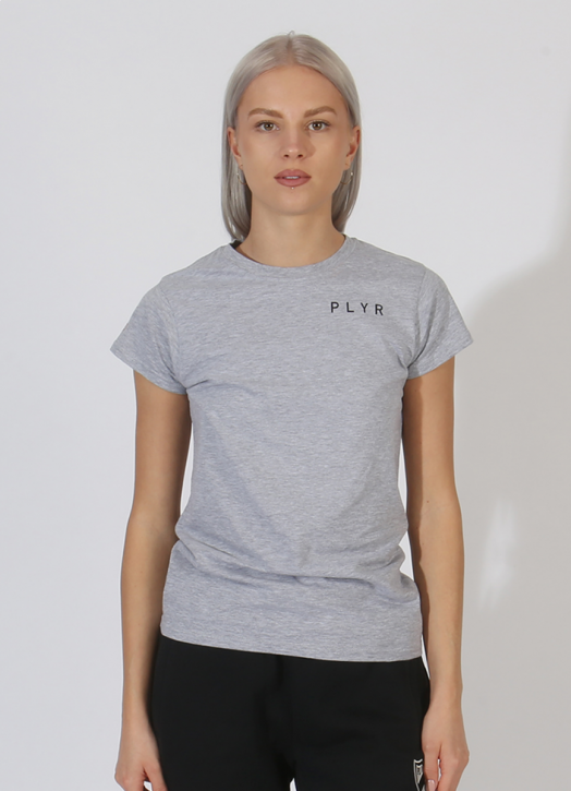 Women's PlayerLayer Tee Grey Marle