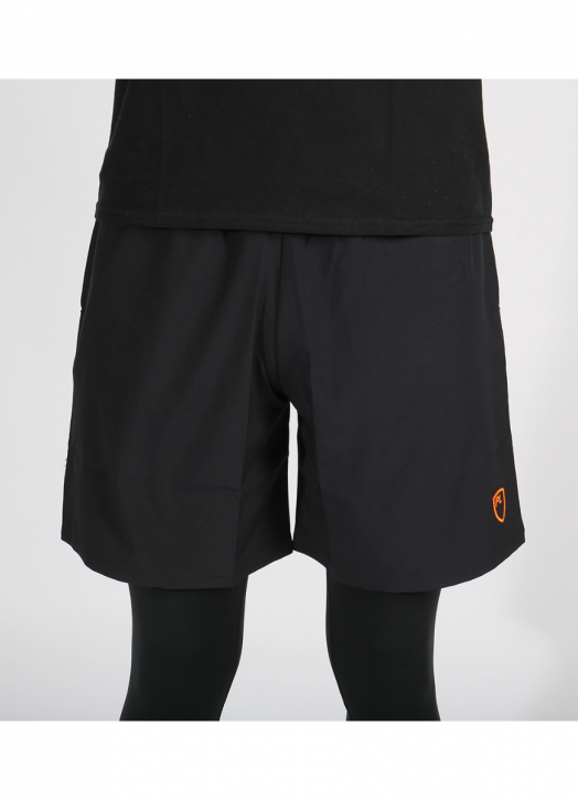 Junior Blitz Field Shorts Pockets Black