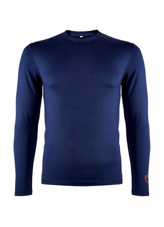 Junior BaseLayer Crew Neck Top Navy Blue