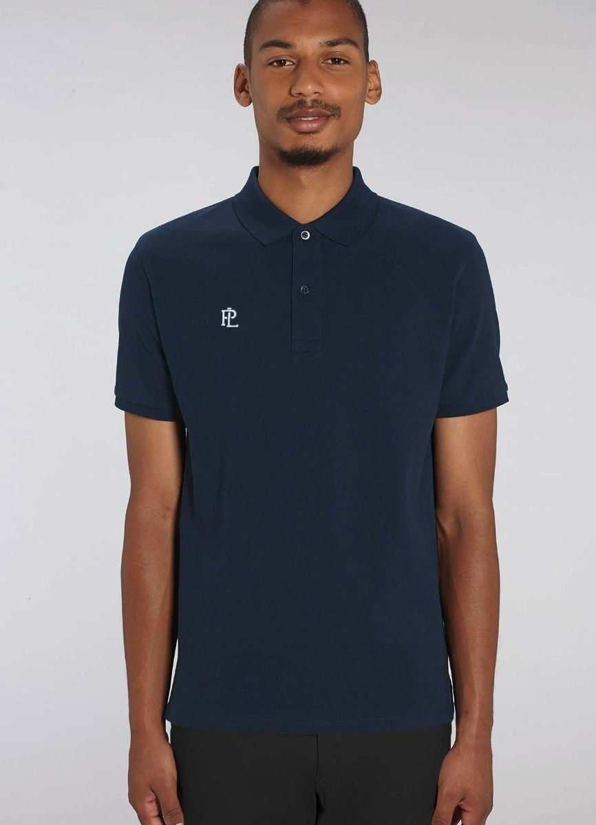 Men's EcoLayer Polo Navy Blue