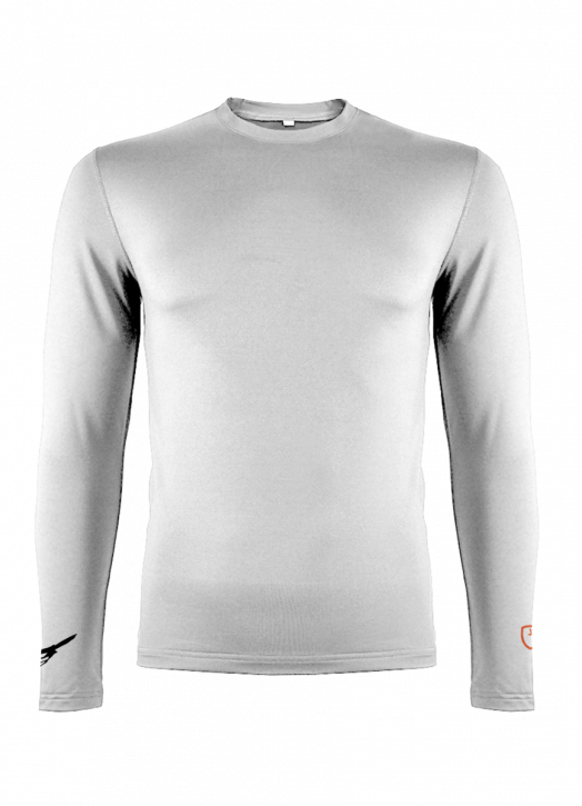 Men's BaseLayer Crew Neck Top White