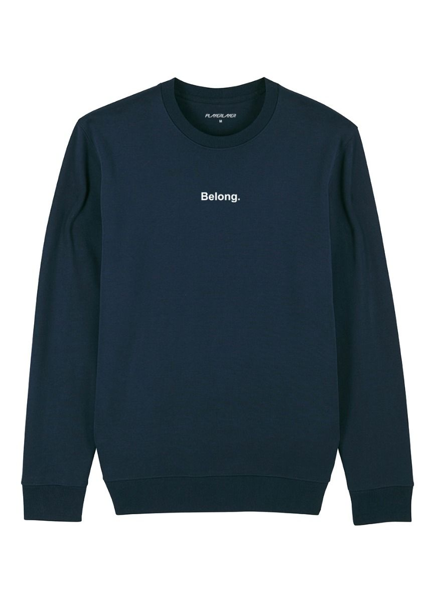 Unisex EcoLayer Sweatshirt Navy Blue