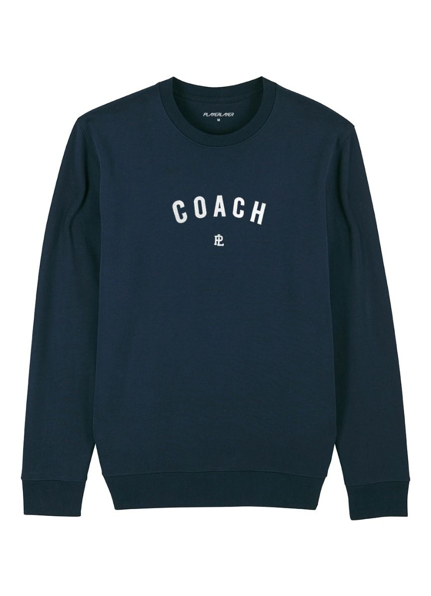 EcoLayer Coach Sweatshirt Navy Blue